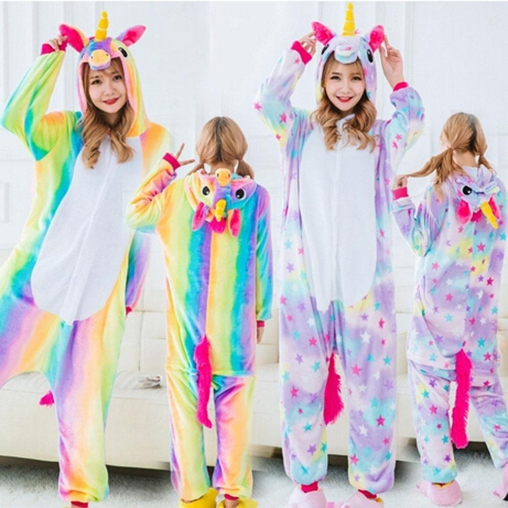 konsep populer baju tidur anak perempuan unicorn