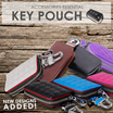 Various Design Leather Key Pouch