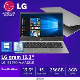 |LG Gram 13Z970-E.AA5BA3 13 inch [Dark Silver] (Intel i5 8GB RAM 256GB SSD)