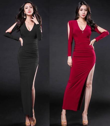 [55555SHOP]★韓国ファッション★女性ファッション★体つきラインを綺麗に支えてくれるニット・ワンピース★デートファッション★