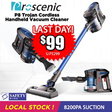 [Promotional Offer] Proscenic P8 Trojan Cordless Handheld Vacuum Cleaner *PROMO*
