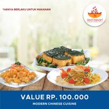[DINNING] Red Bean Voucher Value 100.000