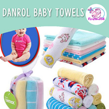 DR02:Restock 26/04/2018 Rompers/Feeding towel/Danrol Baby Clothing/Baby/Rompers/kerchief/washcloth