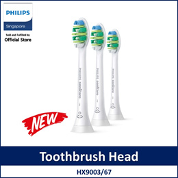 Philips HX9003/67 Sonicare i InterCare Standard sonic toothbrush heads