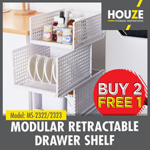FREE SHIPPING ♦ BUY 2 FREE 1 ♦ Modular Retractable Drawer Shelf ♦ Strong And Durable ♦