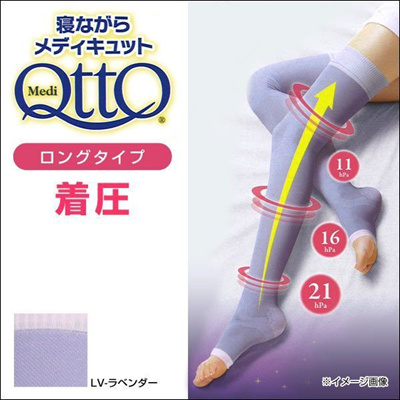 5b1b23600fc Dr. Scholl Medi Qtto Long Open Toe Compression Socks (For Sleeping Made in  Japan