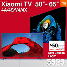 Local Dealer❤Xiaomi Smart Android 4K TV 50 55 65