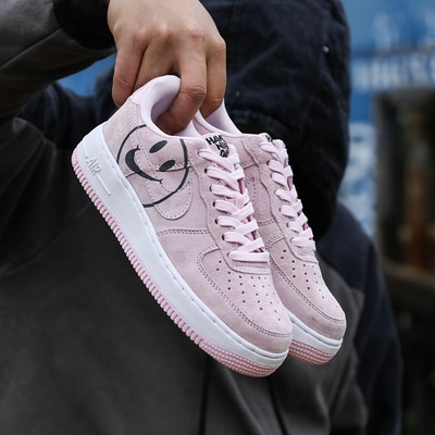 One 1 Help Pink Air Womens Av0742 600 Force Sandals Smile Nike Low Blossom Af1 Cherry 6yvbgIYf7