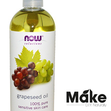 100% Grapeseed Oil 473ml. Lowest price. For sensitive skin. Carrier oil Value pack.