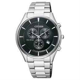 Citizen AT2360-59E 光動能三眼計時男錶