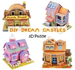 ❤ DIY BIG Dream Castle Puzzle ❤ Kids Adults School Creative Educational Activity ❤ Goodie Bag Gift
