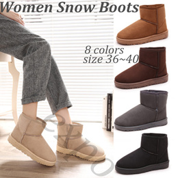 2018 Winter Women Ankle Boots Fashion Snow Boots Plus Size High Quality Keep Warm Woman Cotton Shoes
