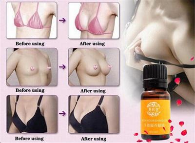 Plump natural breast