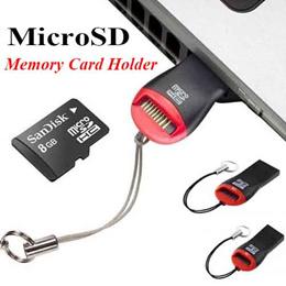 mini reader MicroSD card reader whistle Portable Mini USB 2.0 Micro SD TF