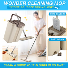 The Original Ezzy Mop/Magic Cleaning Mop/Microfiber/Easy Mop/Wonder Cleaning Mop