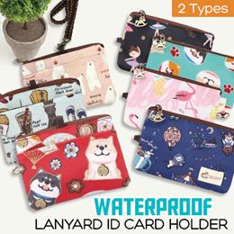 *BEST SELLER*   Uma hana Lanyard ID card holder with window   2 TYPES   Uma042   UMA080