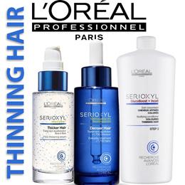 *CHEAPEST* *Hair Loss Tonic Thinning*★ Loreal SERIOXYL Denser Serum Shampoo Conditioner Kit 1000ml