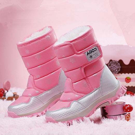 Hot Sale Kids Snow boots winter ankle