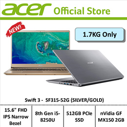 Acer Swift 3 SF315-52G Thin and Light 15.6-Inch Display Laptop