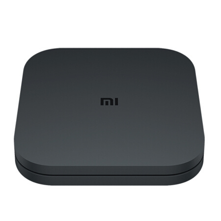 小米(MI)小米盒子4C 4k HDR人工智慧機上盒智慧網路電視機上盒4K電視H.265硬解安卓網絡盒子高清網絡播放機HDR黑色(大陸官方中文簡體版)