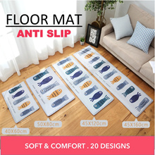 Floor Mat Anti Slip Rug Home Bathroom Living Room Kitchen Balcony Main Door Sofa