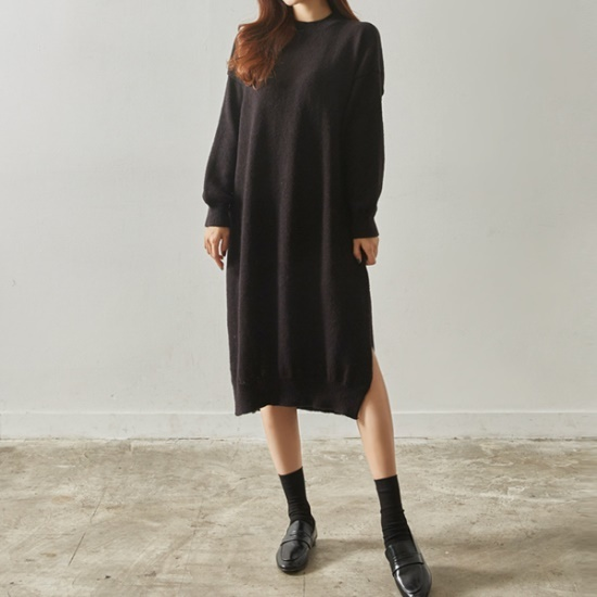 イニクロアンナ・ニットOPSワンピース 綿ワンピース/ 韓国ファッション