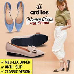 [Ardiles] Buy 2 Free Shipp _ New Arrival - Women Shoes Classic Flat Shoes - 37 ~ 40 Sizes