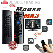 MX3 2.4G Wireless Air Mouse with Keyboard Smart Remote Control for Android iOS TV Box Smart TV
