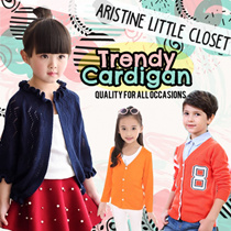 Korean Inspired Cardigan★Sweet★girls★gal★Children★Holiday/Travel/Coldwear★Childcare★Air-con★Jacket