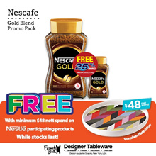 [NESTLE] Nescafe Gold 200gm + Free 50gm