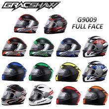 Gracshaw Helmet/G9009 Helmet/Motorcycle Helmet/Full Face Helmet/Gracshaw G9009 Full Face Motorcycle Helmet