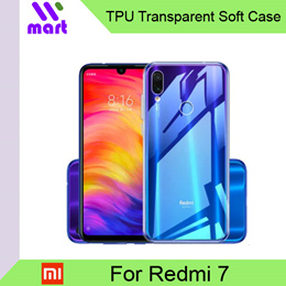 TPU Transparent Soft Case for Xiaomi Redmi 7