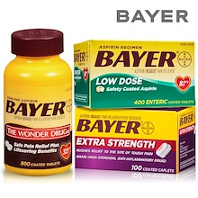 Bayer Aspirin 500mg 100 tablets / 325mg 500 tablets / 81mg 400 tablets ★ United States genuine fast delivery ★