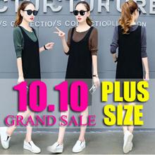 【13/10】600+ style S-7XL NEW PLUS SIZE FASHION LADY DRESS OL work dress blouse TOP