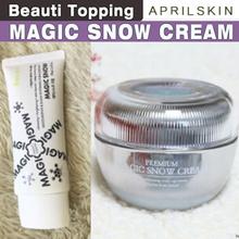 Qoo10 Lowest Price★APRILSKIN★April Skin Magic Snow Cream / Premium / Magic Snow BB / Shield Moisture