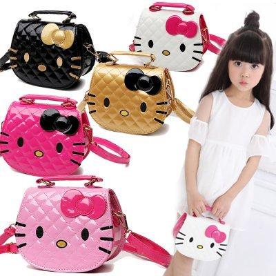 b3396f412b Korean Cartoon Design Cute Hello Kitty Sling Shoulder Messenger Bag Girl