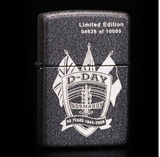 D Day 65th Anniversary Limited Edition Zippo Lighter 24753
