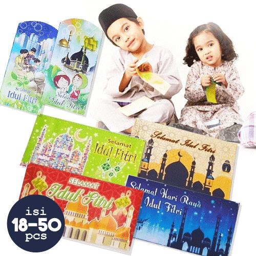 Get 2/ 4/ 5 Pack Amplop lebaran / Angpau Imlek / merried / Banyak jenis | 1 Pack = 12-18 lembar Deals for only Rp10.000 instead of Rp30.303