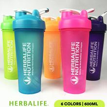 Herbalife Shaker_Herbalife Nutrition Mixer Bottle + Tumbler Shake Ball H65_600ML_6 Colors