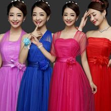 Fashion-House Bridesmaid Dress Evening Gown Bride Wedding Dress Dinner Dress