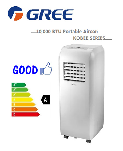 GREE KOBEE Series 10000 BTU Portable Air-Con GPC09AI *FREE DELIVERY*  LIMITED SET OFFER