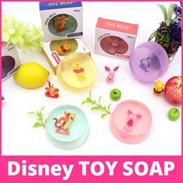 Disney Toy Soap / Korean hit item / Disney figure soap / natural soap / body care / Bath accessories