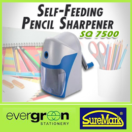 SureMark SQ7500 Self-Feeding Pencil Sharpener