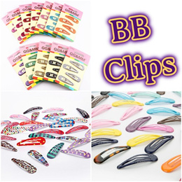 05 Quality BB Clip Hair Accessories Hair Band Tie Clip Side Clip Korean Kids Girl Toddler Baby Gift