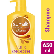SOFT & SMOOTH SHAMPOO 650 ML 650ML