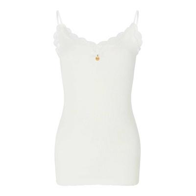 PARISIENNE White Signature Lace Camisole