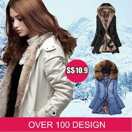 * Best Price S$10.9 *Women Down / denim down jacket / Jacket /