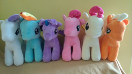 My Little Pony Plush Toys Soft Toys 20cm RarityRainbow Dash Twilight SparklePinkie Pie Fluttershy Apple Jack