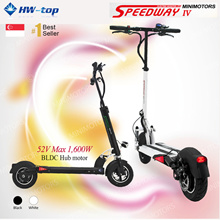 ★LTA compliance ready ★Futecher ★ Speedway/Speedwheel Electric Scooter Foldable Model