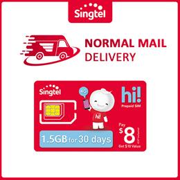 $8 hi! SIM Card (Please refer to info in description)
